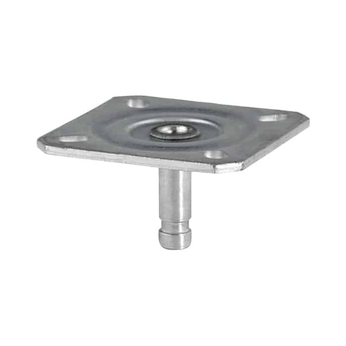 Push In Plate Fitting for Furniture Castors from $3 | The Castor Master