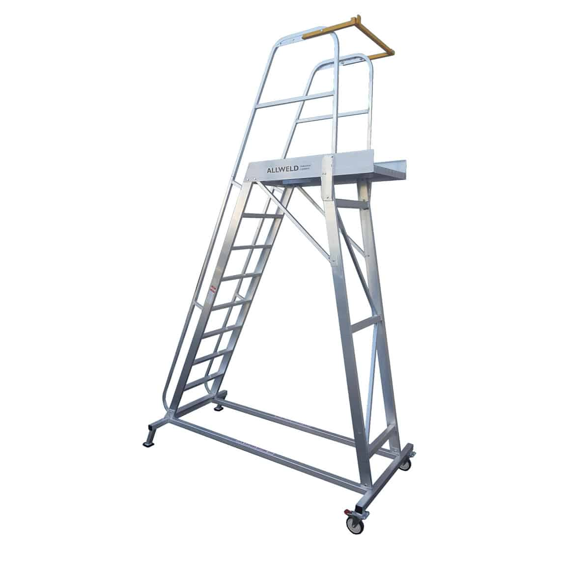 Allweld Order Picking Walk Through Ladders from $1,600 | The Castor Master