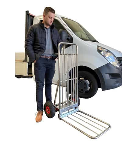 Convert-A-Trolley Stainless Steel